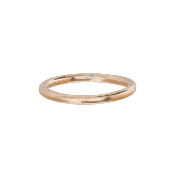 CLASSIC GOLD BAND RING - SIZE 6