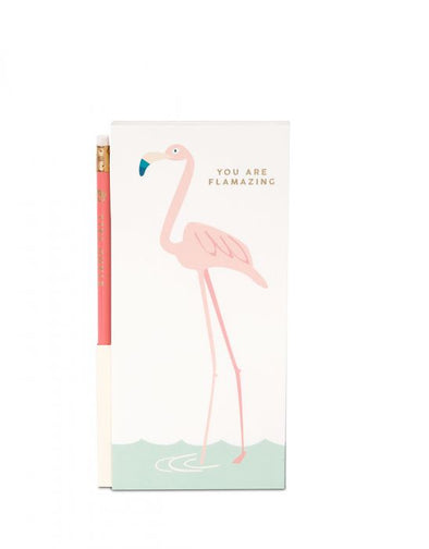 FLAMAZING PENCIL LIST PAD