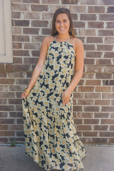 CITRONNADE MAXI DRESS