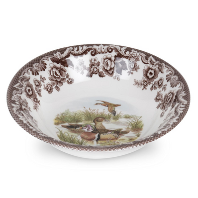 DUCK WOODLAND CEREAL BOWL WOOD (BROOKS)