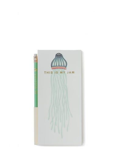 JELLYFISH PENCIL NOTEPAD