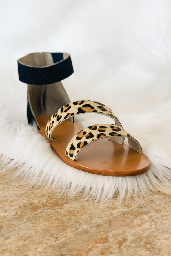 ELISA CHEETAH SANDAL BY ABLE