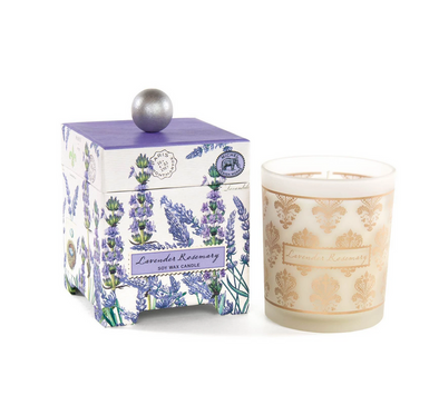 LAVENDER ROSEMARY 6.5oz SOY WAX CANDLE