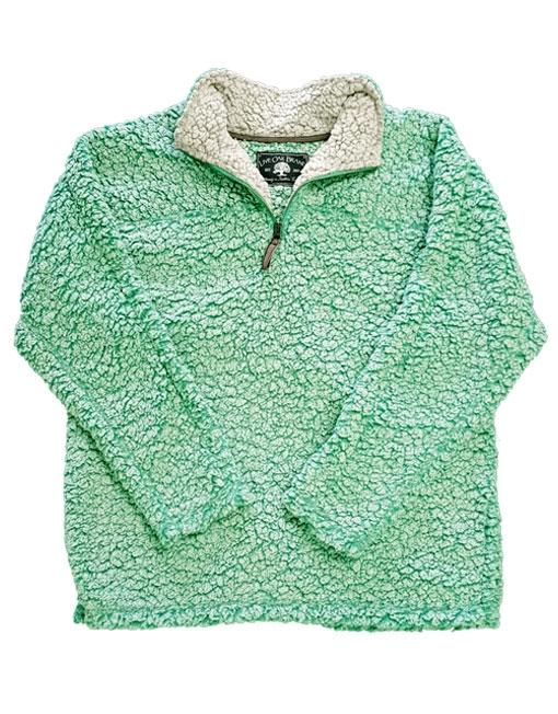 SHERPA PULLOVER IN REEF