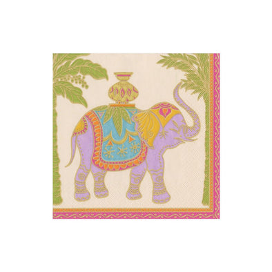ROYAL ELEPHANT PAPER COCKTAIL NAPKINS
