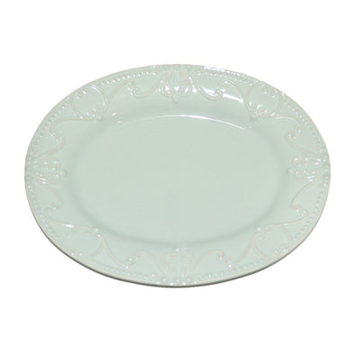 ISABELLA OVAL PLATTER - ICE BLUE