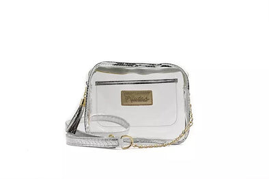 SILVER STADIUM BOX BAG