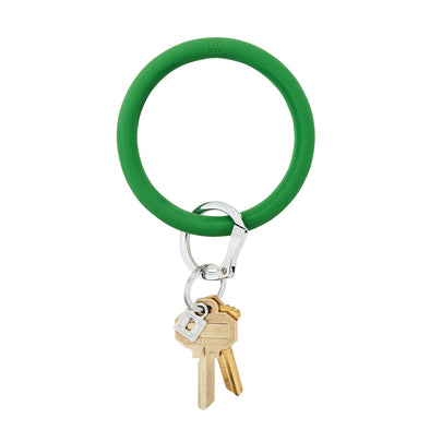 BIG O SILICONE KEY RING IN SHAMROCK