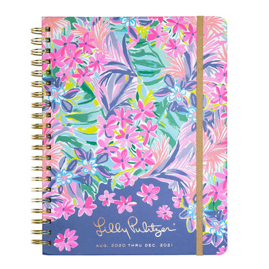 2020-2021 LILLY PULITZER 17 MONTH JUMBO AGENDA IN  IT WAS ALL A DREAM