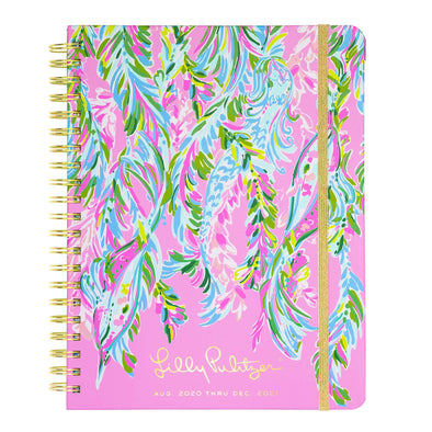 2020-2021 LILLY PULITZER 17 MONTH JUMBO AGENDA IN UNICORN OF THE SEA