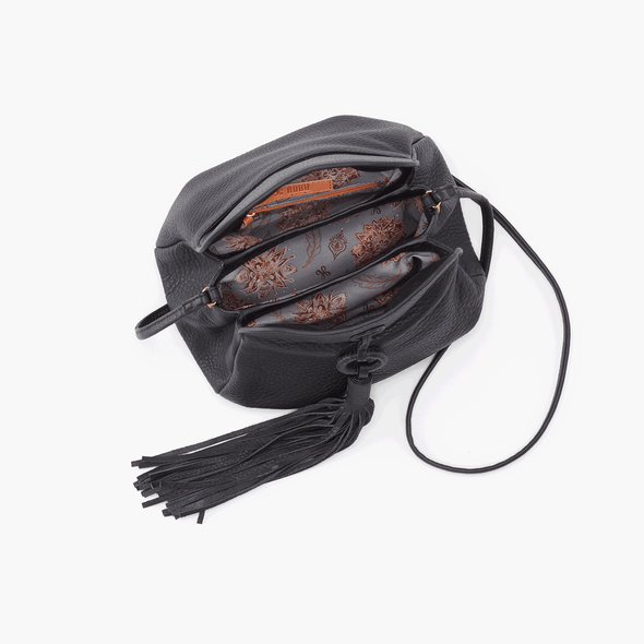 HOBO: BIRDY BLACK CROSSBODY