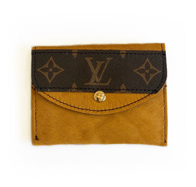 LOUIS VUITTON CAMEL HIDE WALLET