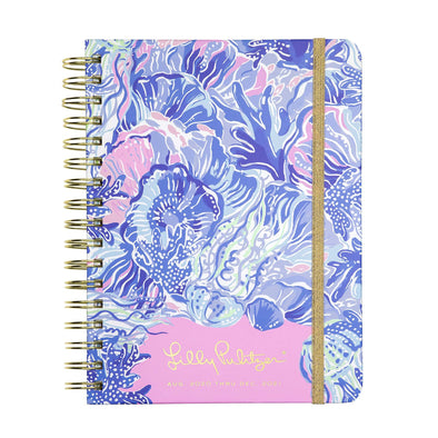 2020-2021 LILLY PULITZER 17 MONTH LARGE AGENDA IN SHADE SEEKERS