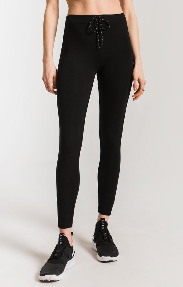THE MOD STRETCH LEGGING - BLACK