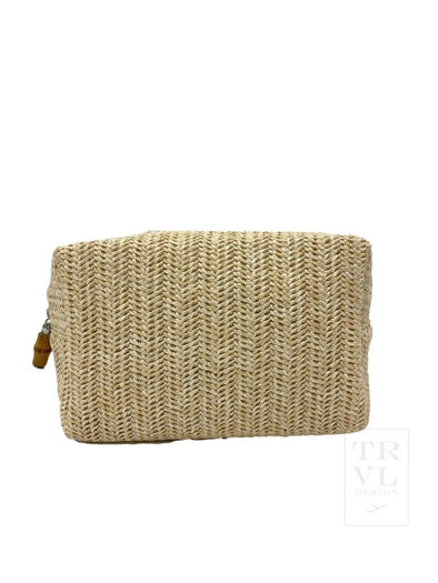 ON BOARD BEAUTY BAG, STRAW SAND