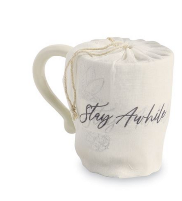 STAY AWHILE PINEAPPLE MUG