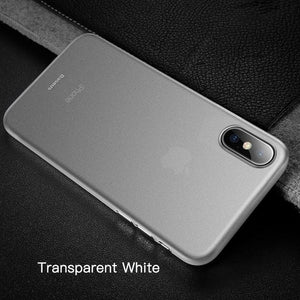 Ultra-Thin Shell Case For iPhone Xs