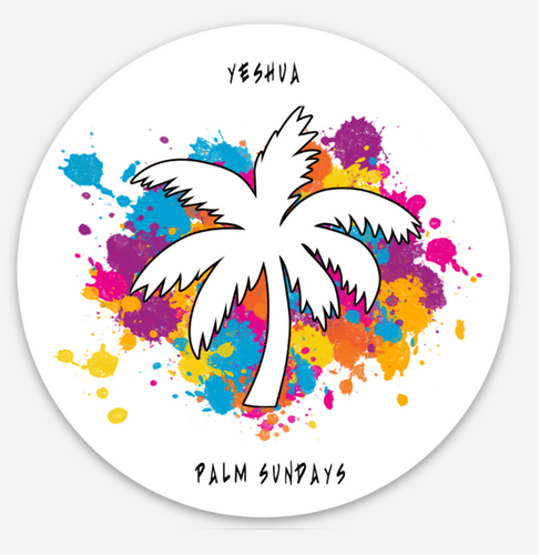 Palm Sundays sticker