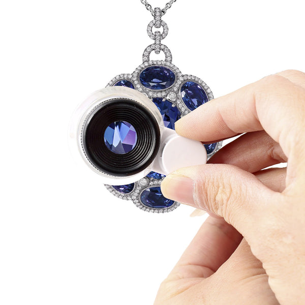 LED Triplet Jewelers Loupe, 20x - ShopFancii.com