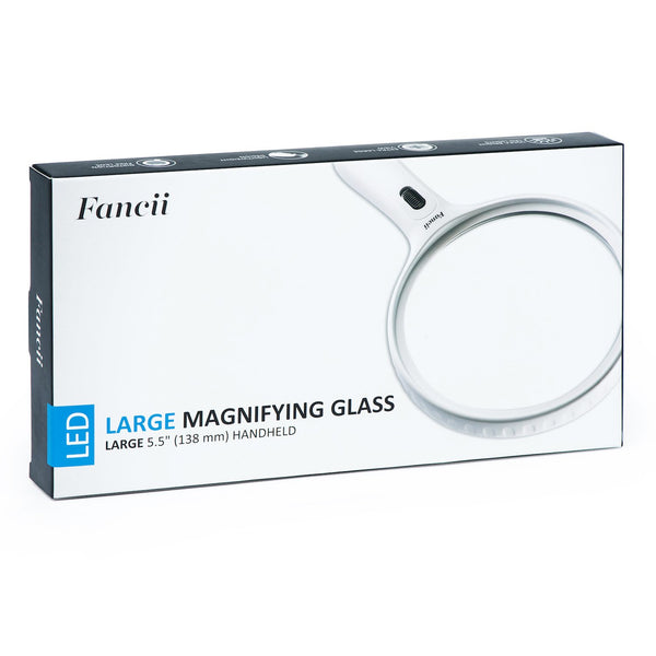 ProPower Large Magnifying Glass with Light, 2x 3.5x - ShopFancii.com