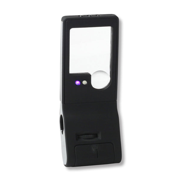 LED Lighted Small Magnifying Glass, 3x 10x 15x - ShopFancii.com