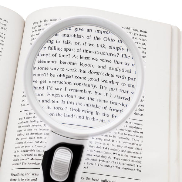 ProPower LED Magnifying Glass Set, 3x 5x - ShopFancii.com