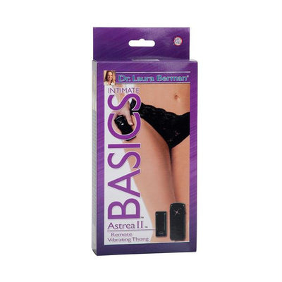 Berman Center Intimate Accessories Astrea II Remote Vibrating Thong