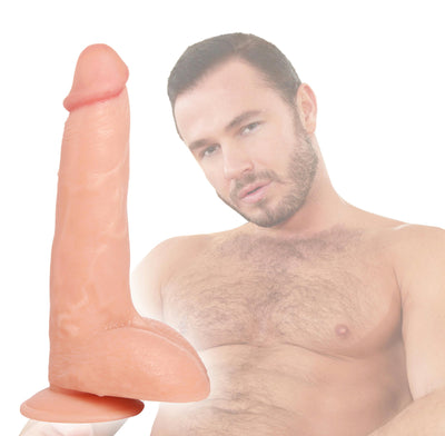 Raging Cockstars Perfect Pecker Paul 7 Inch Realistic Dildo