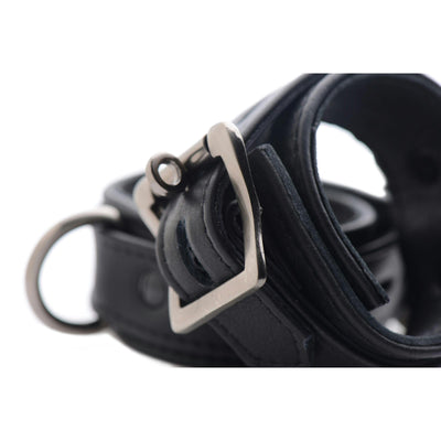 Strict Leather Luxury Locking Wrist Cuffs