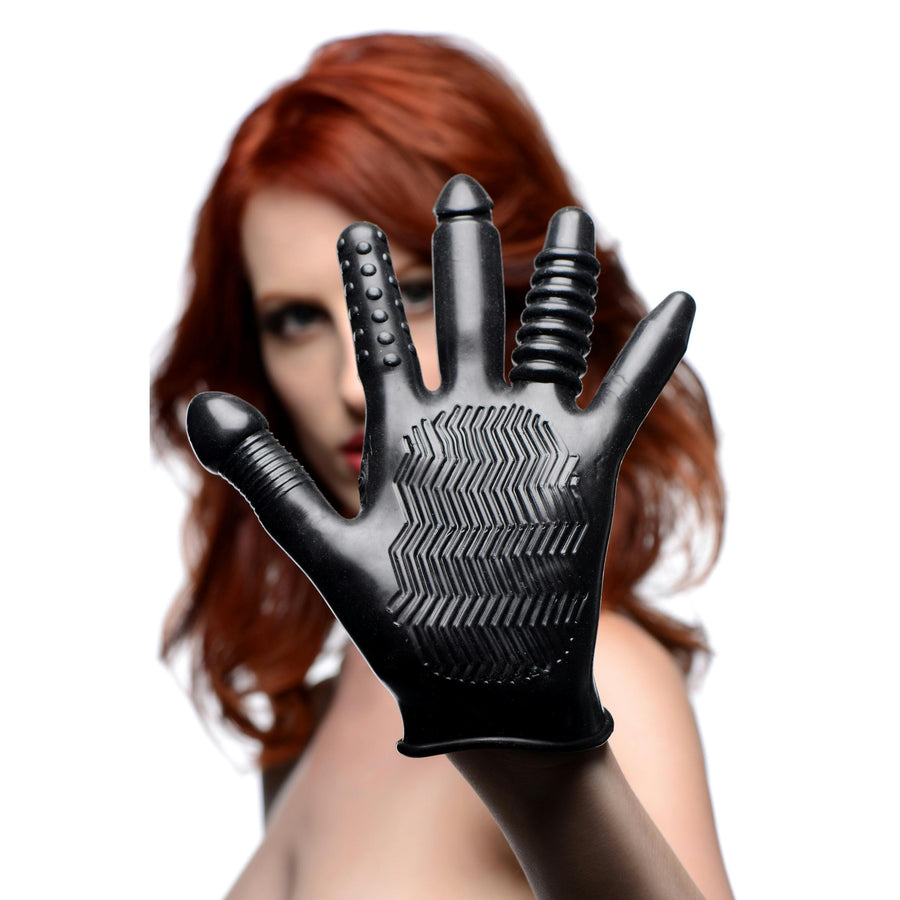 Pleasure Poker Textured Glove