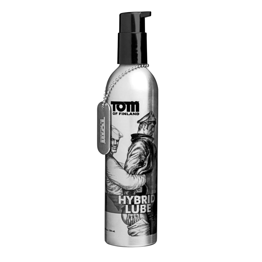 Tom of Finland Hybrid Lube- 8 oz