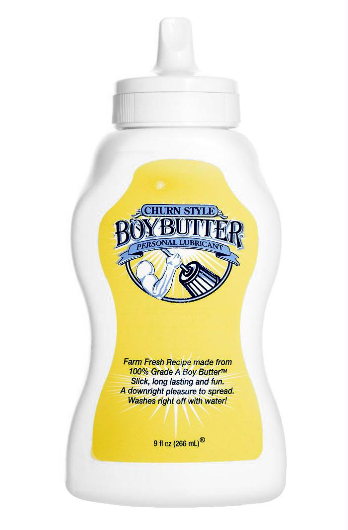 Boy Butter 9oz Squeeze Bottle
