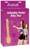 Inflatable dicky ring toss