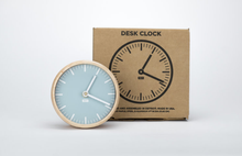 Load image into Gallery viewer, TAIT-Glacier Solid Maple and Aluminum Desk Clock