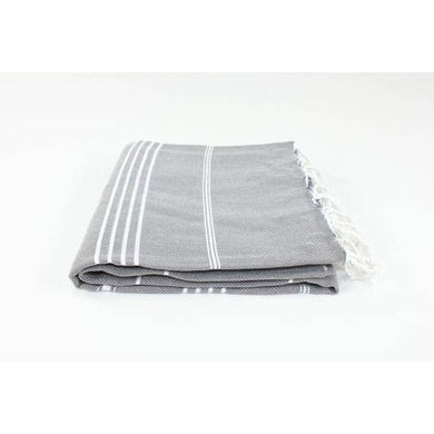 Turkish Linen & Towel-Turkish Classic Striped Peshtemal Towel