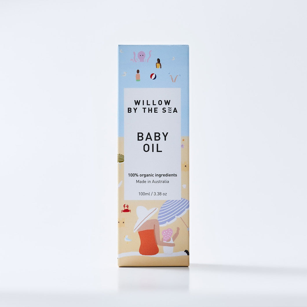 Willow by the Sea-ORGANIC BABY OIL
