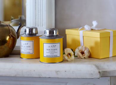Bellocq Nocturne Collection Yellow Traveler Caddy Set