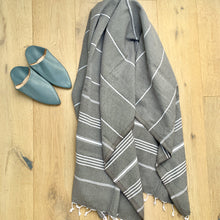 Load image into Gallery viewer, Turkish Linen & Towel-Turkish Classic Striped Peshtemal Towel