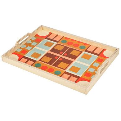 Wolfum Studio-Alexander Peach Serving Tray