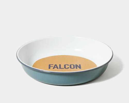 Falcon Enamelware-Large Salad Bowl, Pigeon Grey