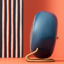 Load image into Gallery viewer, Arne Jacobsen  Station Alarm Clock - Petrol Blue