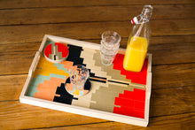 Load image into Gallery viewer, Wolfum Studio-Alexander Peach Serving Tray