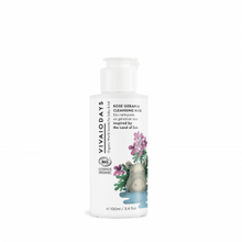 Load image into Gallery viewer, VIVAIODAYS | ROSE GERANIUM CLEANSING WATER