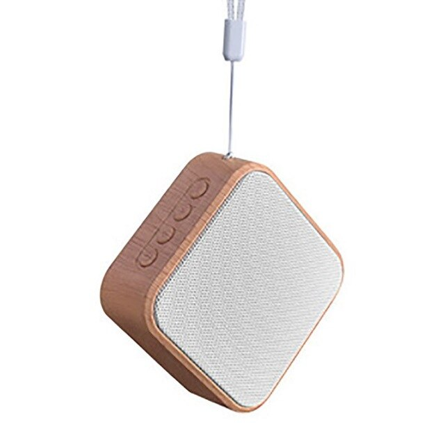 WOODEN MINI BASS SPEAKER