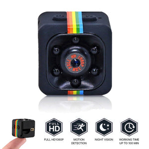 SQ11 MINI CAMERA HD 1080P Sensor Night Vision Camcorder