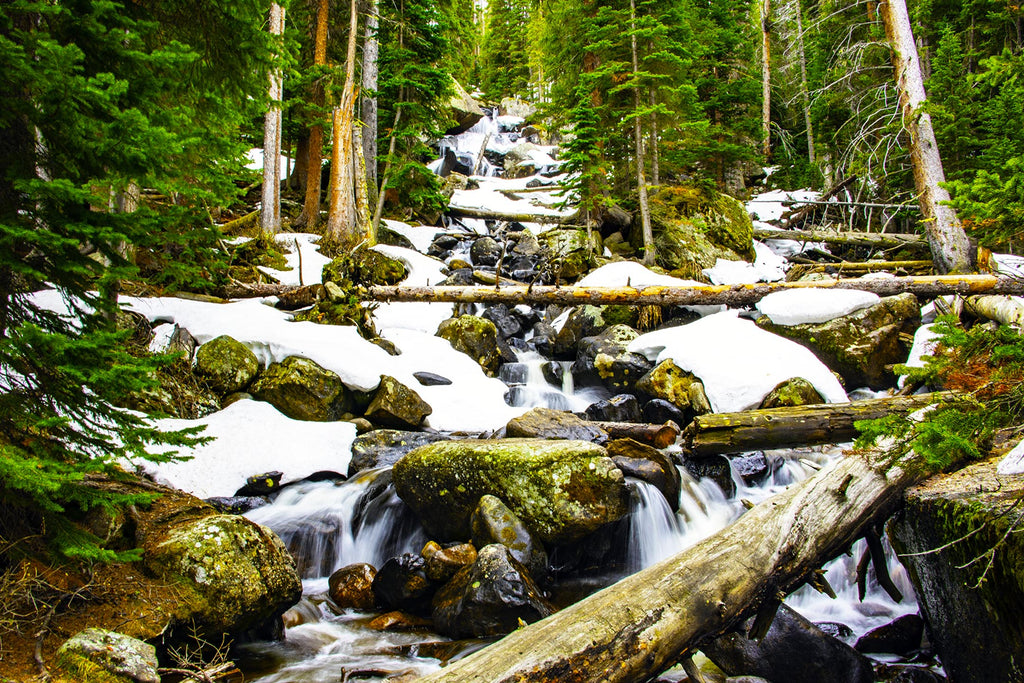 Wild Basin Waterfalls: Rocky Mountain National Park