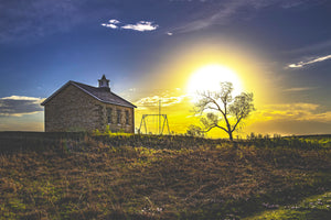 Schoolhouse at Dawn