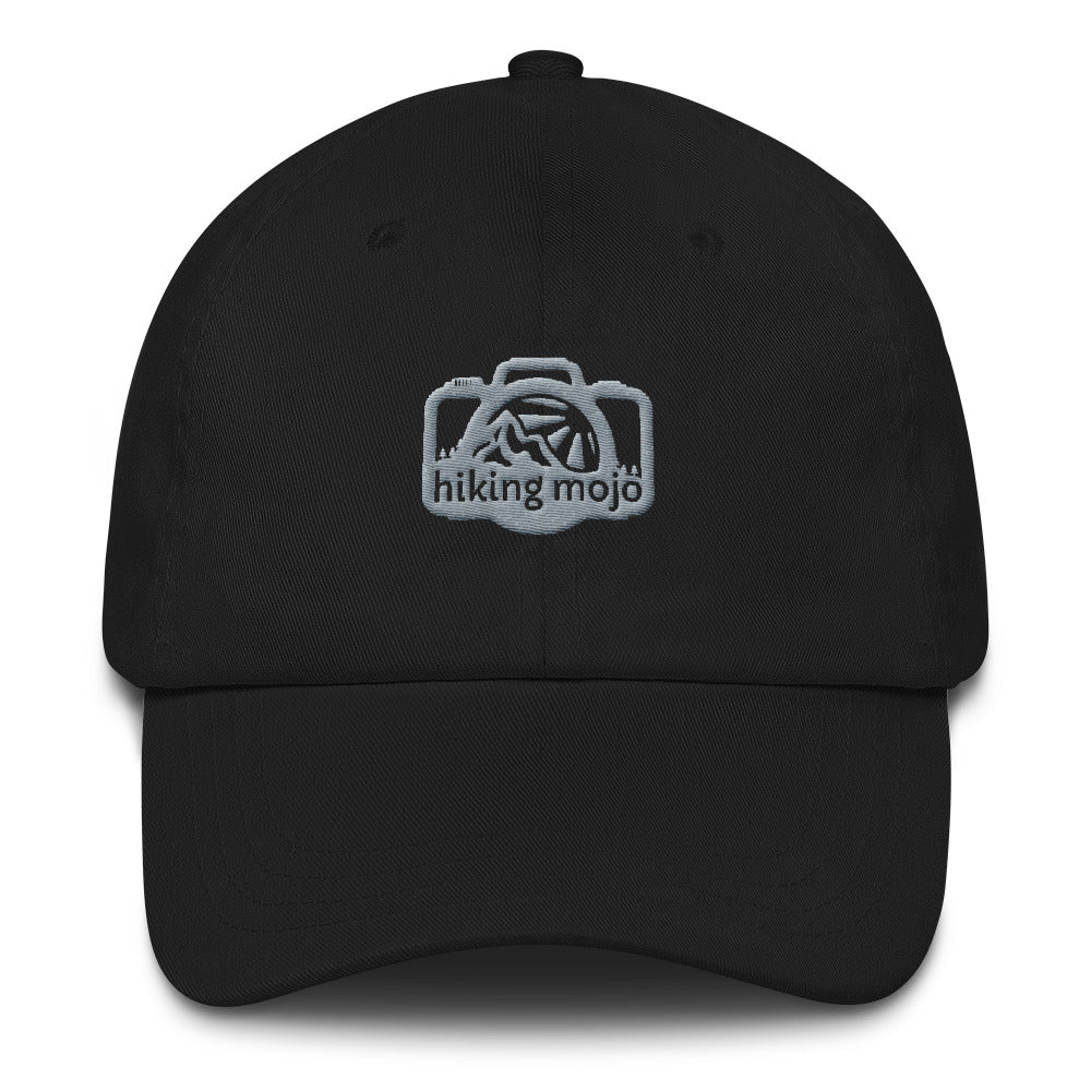 Low-Profile Baseball Cap - Grey Logo