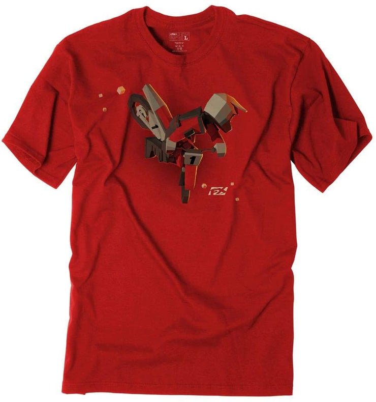 T-SHIRT KIDS FX MOTO RED