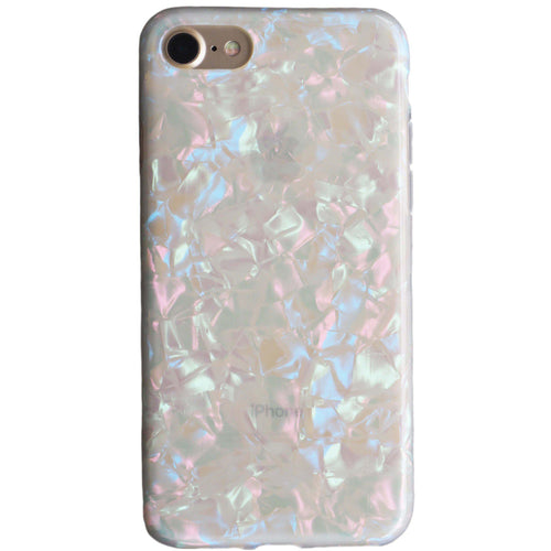 Mother of pearl shiny shell iPhone case